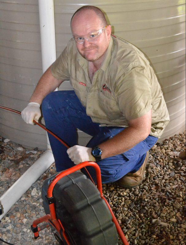 Blocked Drain - plumber